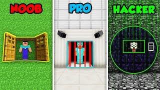Download Minecraft NOOB vs. PRO vs HACKER: PRISON ESCAPE in Minecraft! Video