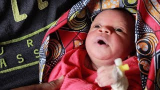 Download Healthy baby born to mother who survived Ebola Video