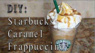 Download DIY: Starbucks Caramel Frappuccino! Video