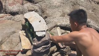 Download Primitive technology : create fresh water from sea water | pure water Video