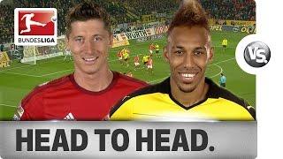 Download Lewandowski vs. Aubameyang - Goal-Getters Go Head-to-Head Video