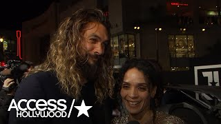Download 'Justice League': Jason Momoa On Why He Wanted To Play Aquaman | Access Hollywood Video