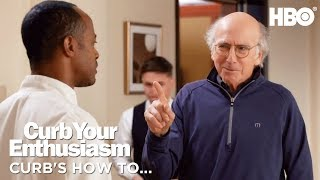 Download How to Make a Face | Curb Your Enthusiasm | Season 9 Video