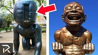Download 10 Strangest Statues In The World Video