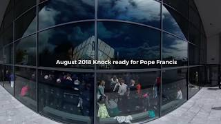 Download Knock ready for the appearance of Pope Francis Video