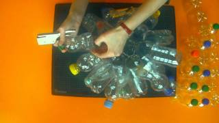 Download Re-UseTV - Lamp out of a few plastic bottles Video