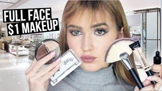 Download FULL FACE Using $1 MAKEUP | Hit or Miss?! ShopMissA Video