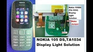 Nokia TA-1034 (105-2017) lights solution 100000% ok Free Download
