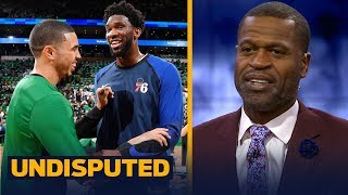 Download Stephen Jackson reacts to Celtics vs. Sixers, talks Warriors' biggest competition | NBA | UNDISPUTED Video