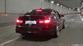 Download INSANE BMW M3 F80 with Straight Pipes HUGE Burnout in a Tunnel!! Video