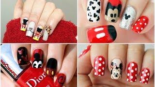 Download MICKEY MOUSE NAILS | Uñas de Mickey Mouse - #Fashion #Nails #Moda #MickeyMouse ♥ Video