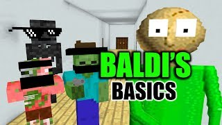 Download Monster School : BALDI'S BASIC CHALLENGE - Minecraft Animation Video