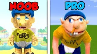 Download Minecraft NOOB vs. PRO: JEFFY SUPERMARIOLOGAN in Minecraft! Video