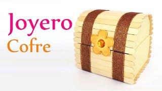 Download Manualidades: JOYERO ″Cofre″ con Palitos de Helado (palos de paleta) - Innova Manualidades Video
