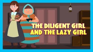 Download THE LAZY GIRL - MORAL STORY FOR KIDS || KIDS HUT STORIES - ANIMATED STORIES FOR KIDS Video