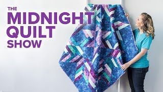 Download Angela's FREE Braided Star Quilt Pattern| S6E9 Midnight Quilt Show with Angela Walters Video