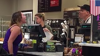 Download Crazy woman blew up at white Peet's barista months before epic Michaels rant - TomoNews Video