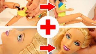 Download Salvando sua Barbie - Truques Para Arrumar Pernas e Maquiagem / Tirar Manchas - Dicas para Bonecas Video