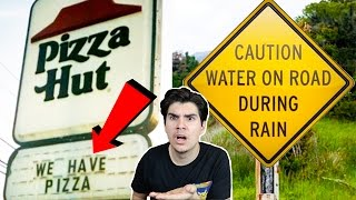 Download WORLDS MOST OBVIOUS SIGNS EVER MADE! Video