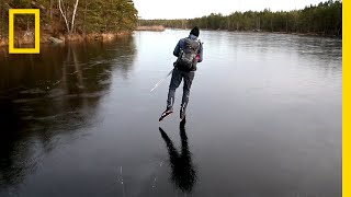 Download Hear the Otherworldly Sounds of Skating on Thin Ice | National Geographic Video