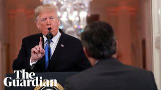 Download 'You are a rude, terrible person' : Trump attacks CNN reporter Video