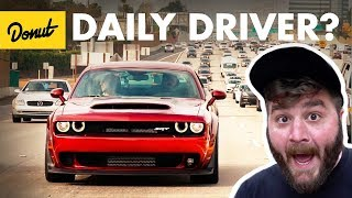 Download Dodge Demon - Commuting in an 840hp Muscle Car | The New Car Show Video