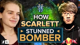 Download How Scarlett stunned Bomber in one of StarCraft's greatest series Video