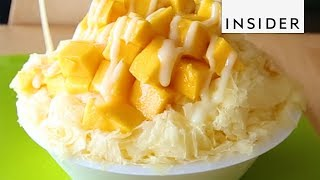 Download Mango And Coconut Milk Shaved Ice Video