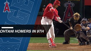 Download Ohtani cranks his 6th homer of 2018 Video