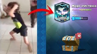 Download TOP 10 REACCIONES DE NIÑOS AL CONSEGUIR LEGENDARIA en Clash Royale Video