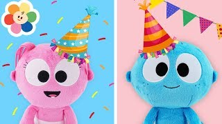 Download GooGoo Baby Birthday Party at The Playground | Pretend Play with Dolls & Toys Stories for children Video