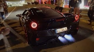 Download Monaco Supercar Night MADNESS! Flames, Revs & Accelerations! Video