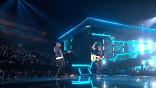 Download Ed Sheeran – Castle On The Hill & Shape Of You feat. Stormzy [Live from the Brit Awards 2017] Video