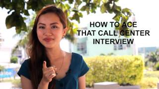 Download Tips on Call Center Job Interviews Video