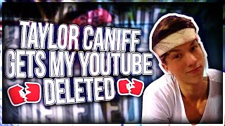 Download TAYLOR CANIFF GETS ME BANNED ON YOUTUBE(DISS TRACK) Video