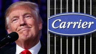 Download Trump prepares to announce Carrier deal, leave empire Video