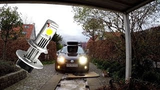 Download LED vs. Halogen, install and test Video