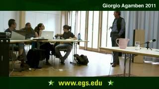Download Giorgio Agamben. Gesture, or the Structure of Art. 2011 Video