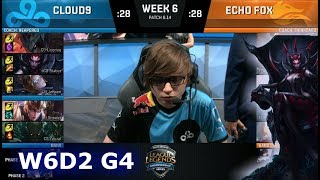 Download Cloud 9 vs Echo Fox | Week 6 Day 2 S8 NA LCS Summer 2018 | C9 vs FOX W6D2 Video