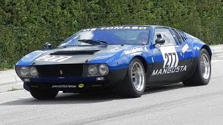 Download De Tomaso Mangusta Great V8 Sound On Hillclimb Video