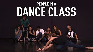 Download People In A Dance Class Video