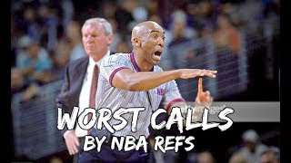 Download WORST Calls by NBA REFEREES Video