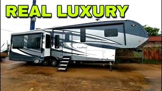 Download Super Luxurious Cardinal Fifth Wheel! Look inside this beauty! Video