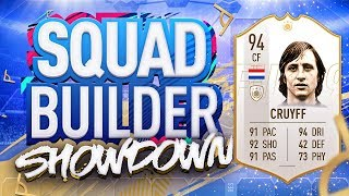 Download FIFA 19 SQUAD BUILDER SHOWDOWN!!! NEW PRIME ICON CRUYFF!!! 94 Rated Johan Cruyff vs Castro Video