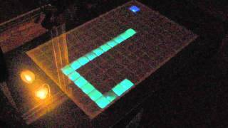 Download Arduino LED table demo and pict. Video