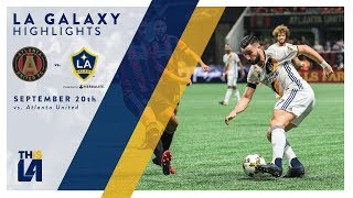 Download HIGHLIGHTS: LA Galaxy vs. Atlanta United FC | September 20, 2017 Video