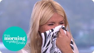 Download Holly Drops a Naughty Innuendo | This Morning Video