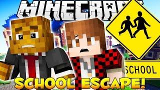 Download Minecraft ESCAPE FROM SCHOOL Death Run w/ BajanCanadian & JeromeASF Video