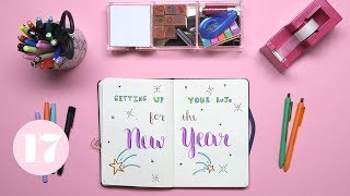 Download 2018 Bullet Journal Setup | Plan With Me Video
