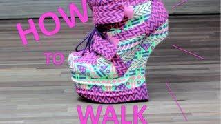 Download How to WALK/RUN in Heel less heels Video